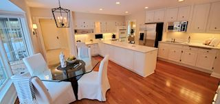 The large kitchen is a perfect area for family and friends to gather - Photo provided by seller