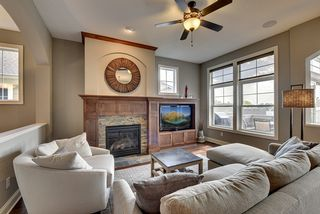 Fabulous Main Level Great Room with high ceiling and stunning fireplace