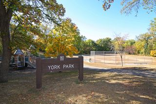 York Park just blocks away