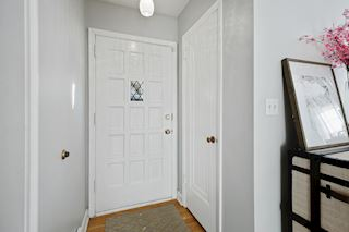 Front entrance with coat closet