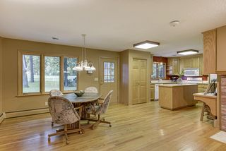 Gleaming wood floors throughout the entire main level are rich and well maintained.