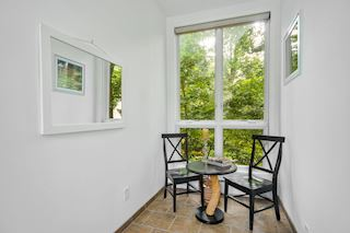 Enclosed porch area, wonderful space for reading, painting or meditating
