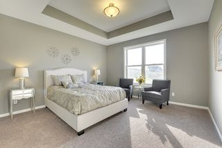 Master Bedroom with Step Vault Ceiling
