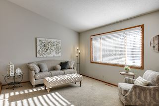 Freshly painted with neutral decor this home is crisp & clean and move in ready!