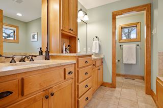 Master Bathroom - Double Sink & Separate Shower