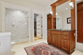 Master Bath Suite is tastefully updated with all of today's comforts yet keeping with the period of the home -2nd Floor