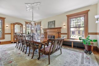 Easily entertain 12+ guests in the formal dining room - Main Level