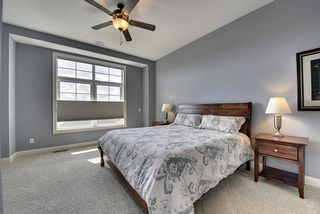 Large Master bedroom with plush carpeting