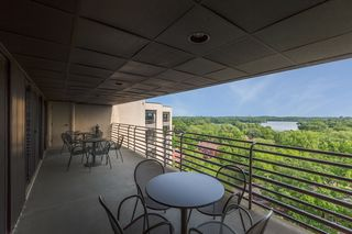 balcony off event center room