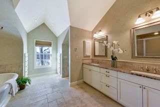 Master Bath with in floor heat