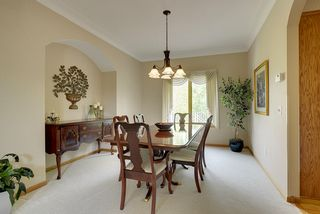 Underground Sprinkler System Too Buffet Niche In This Formal Dining Room