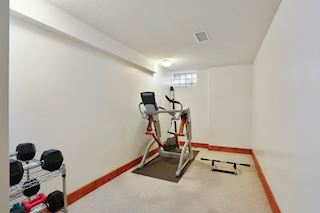 Excercise room.