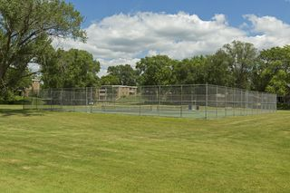 Todd Park tennis courts and a paved walking / biking path around the park provides you with lots to do!