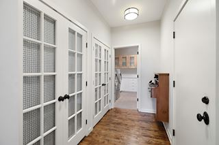 Main floor - laundry, mudroom area and garage access