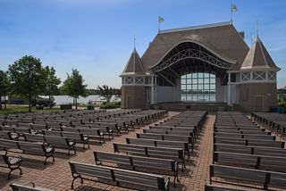 Lake Harriet Bandshell hosts concerts throughout the spring, summer, fall