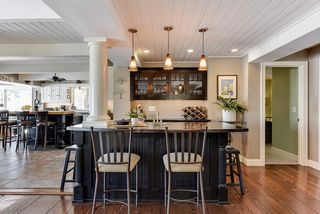 Wet bar off kitchen - perfect for entertaining
