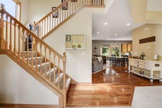 The large front foyer makes your guests feel instantly at home