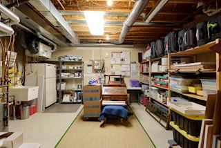 The Most Organized Storage & Mechanical Room