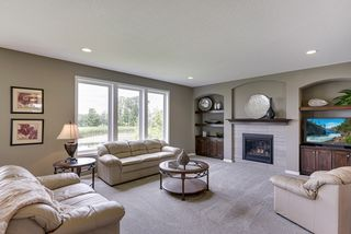 Great Room with Gas Fireplace and Entertainment Center