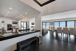 Gourmet Kitchen and Great Room with West Facing Views