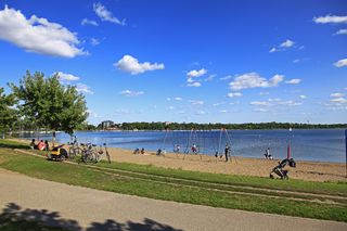 north beach of Lake Bde Maka Ska formerly Lake Calhoun