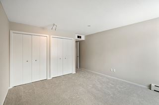 Double closet for storage