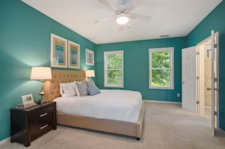 Master bedroom and Master bath which includes a walk in closet