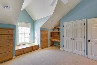 Childs Bedroom with custom Built-ins