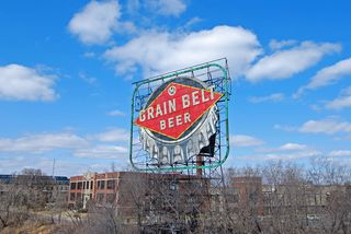 When you visit homes in Plymouth, St. Louis Park and Golden Valley and other suburbs, you'll see pictures of the Grain Belt sign, the Stone Arch Bridge, Grumpy's Bar and other Northeast Minneapolis attractions hanging on the walls but you never see pictures of suburban attractions hanging on Northeast Minneapolis walls!  Hmmm...  :)