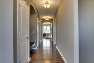 Foyer with Birch Hardwood Floors