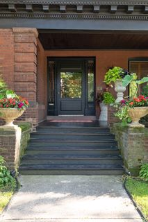 496 Portland Ave - front entry with covered porch