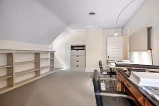 Bedroom 5 - Use as a bedroom or perfect for an office with all the built-in bookshelves - 3rd Floor