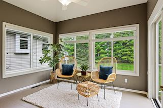 Amazing Sunroom with Walls of Windows - Heated Floors are Brand New