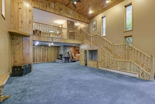 Amazing millwork, open staircase leads down to the large two story great room!