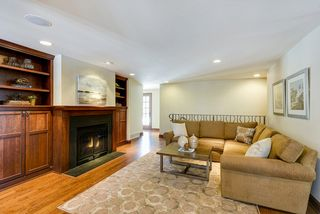 Family Room off the Kitchen with gas fireplace