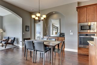 Informal dining area with wonderful built-in buffet