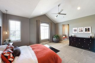 Open and spacious master suite - note window seat in entry hall...