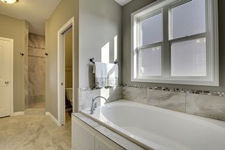 Soaker Tub and Ceramic Tile Floors