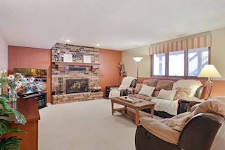 Fabulous lower level family room!
