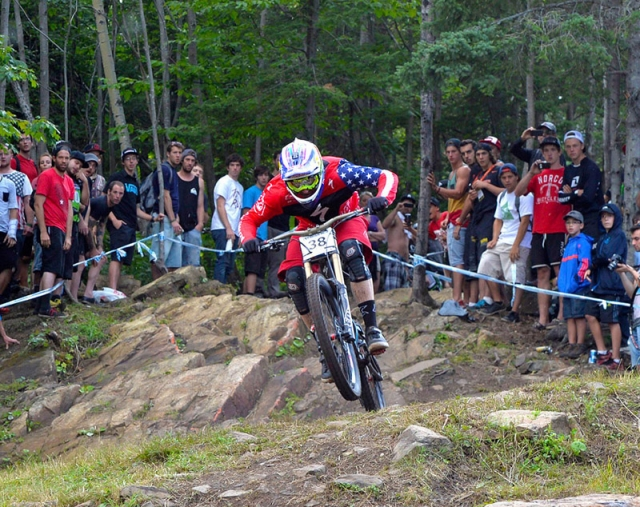 Aaron Gwin's 5th-place finish was the best for an American