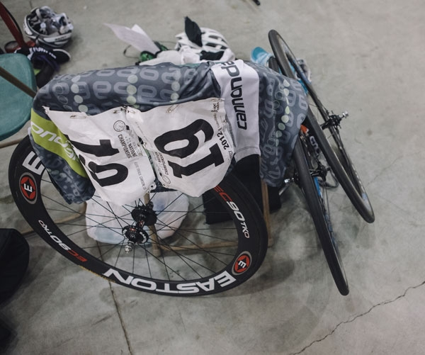 Bike gear at 2012 Elite Track Nationals