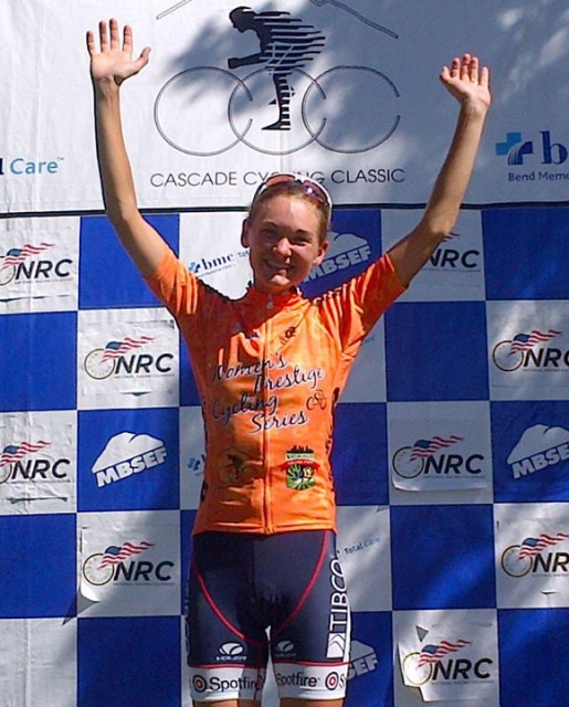 Claudia Haeusler claimed the Individual classification at the 2013 Women's Prestige Cycling Series