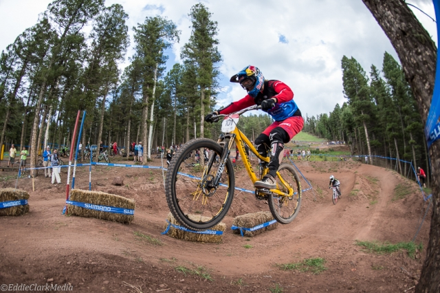 Jill Kintner handily won the pro women's dual slalom.