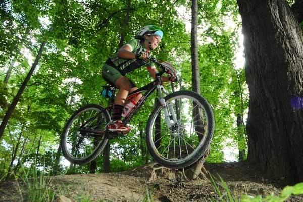 High school mountain bike racing is getting underway in Ohio.