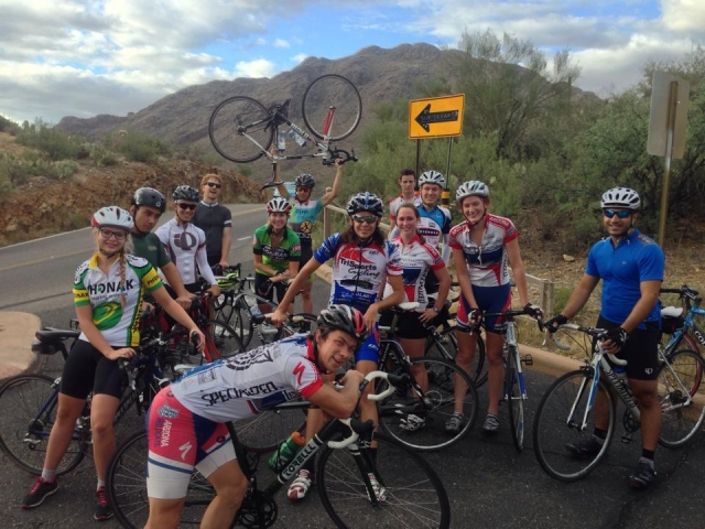 University of Arizona Group Ride