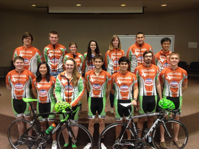 UTD cycling team