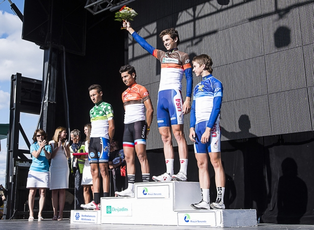 2013 Tour de l'Abitibi Desjardins classification podium
