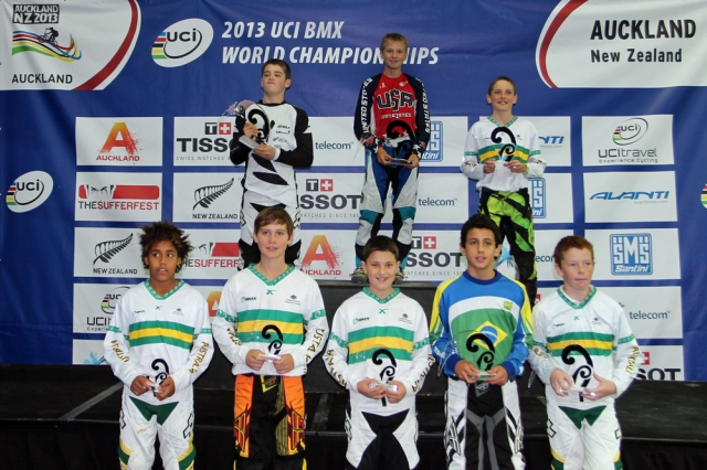 Reid Austin topped the boys 12-and-under podium