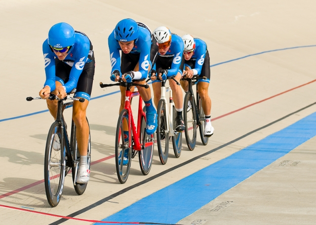 Team pursuit gold medal ride - Day 3