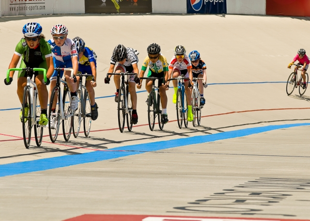 The 10-12 scratch race